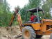 helper learning backhoe