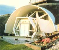 The Geodome in Missoula, Montana